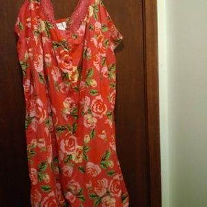 Amoureuse 4X nightgown/housedress/coverup